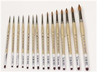 DAS 225 Red Sable Brushes