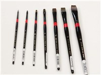 DAS 2630 Bright and Filbert Synthetic Brushes