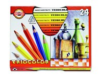 Koh I Noor Triocolor Pencils