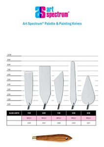 AS PAINTING KNIFE 1007