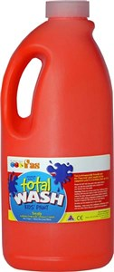 FAS TOTAL WASH 2LTR WARM RED