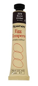 ROWN EGG TEMPERA 22ml BURNT UMBER